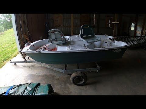 We Just Bought A Pelican Predator Fishing Boat And Trailer