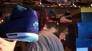Shoe 452: Nike Air Flight 89 Dark Royal Blue (Kick Krazy)