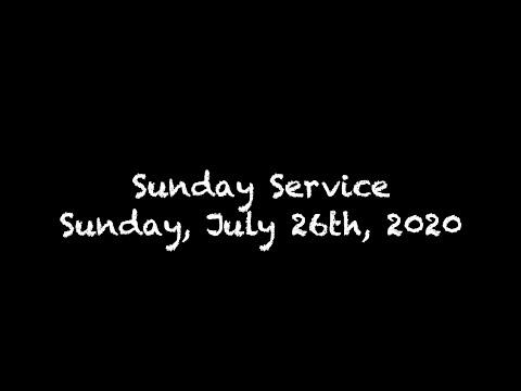 Faith Lutheran Church Worship Service for July 26th, 2020