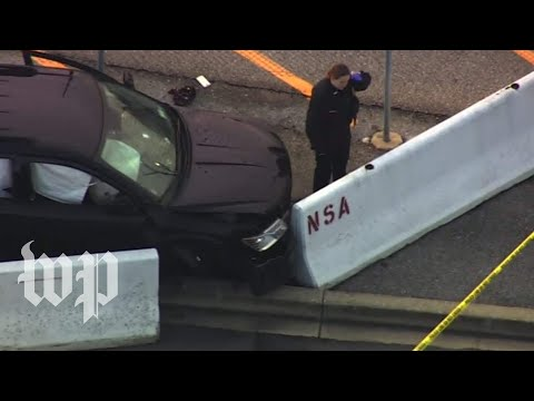 Officer injured, one person in custody in shooting incident near NSA security gate