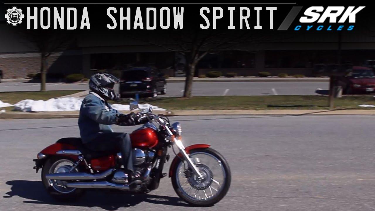 Honda Shadow 750 Test Drive Youtube