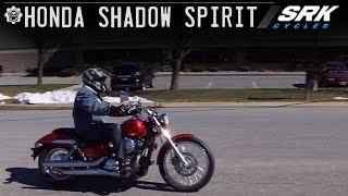 Honda Shadow 750 Test Drive