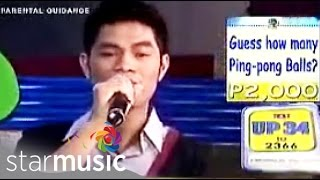 Bugoy Drilon - in Music Uplate Live sings Paano Na Kaya