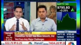 CNBC Chartbusters 11 July 2017- Mr  Alok Sanghi - Director, Sanghi Industries