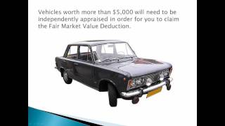 How to Claim Your Car Donation Tax Deduction for 2012, 2013