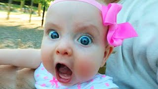 Funny Cute Babies Being Angry  JustSmile