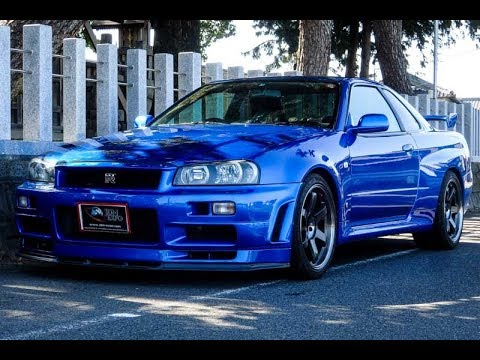 nissan skyline gtr r34 for sale jdm expo 5714 s8178 youtube. Black Bedroom Furniture Sets. Home Design Ideas