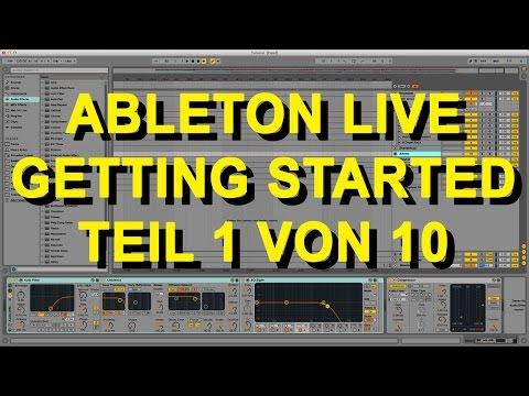 Ableton  9 für Anfänger Part 1 von 10
