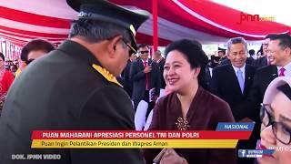 Puan Maharani: Terima Kasih TNI-Polri - JPNN.com