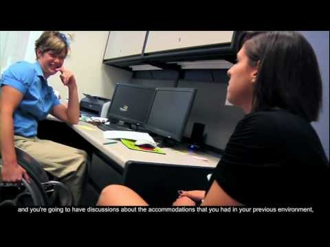 Disability Resource Center Overview (Open Captioned)