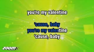 Train - Valentine - Karaoke Version from Zoom Karaoke