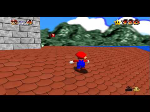 Super Mario 64 Ideal Pack, Castle Grounds