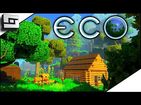 A Whole New World! ECO Gameplay - Survival Building Game Part 1 / Ep 1