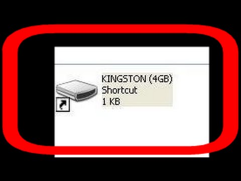 "Fix ""My Removable Device"" shortcut virus from USB external HDD and Pendrive"