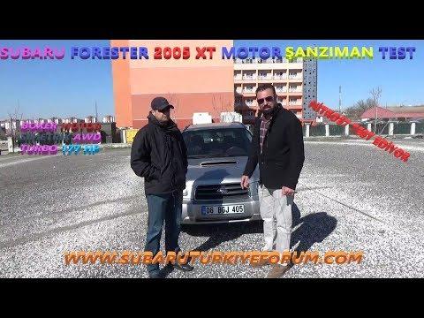 Subaru Forester Xt Motor Şanzıman Test & Bmw 320 Si Rolling