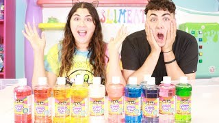 3 COLORS OF GLUE SLIME CHALLENGE! ~ Slimeatory #403