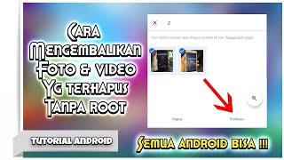 CARA MENGEMBALIKAN VIDEO YANG TERHAPUS DI ANDROID!! Hai Semuanya❤️ Jadi Divideo Kali Ini, Aku Bakal .