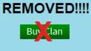 ROBLOX REMOVED GROUP CLANS!!!!