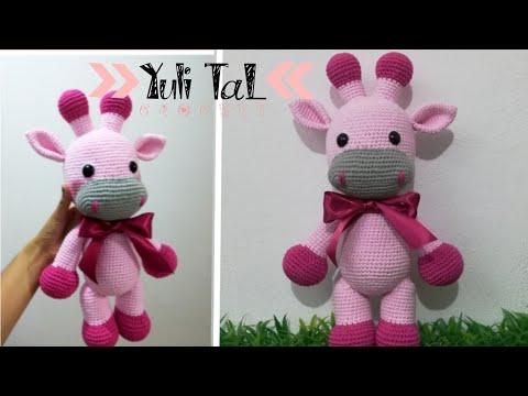 Amigurumi   como hacer una jirafa en crochet   Bibi Crochet - YouTube   360x480