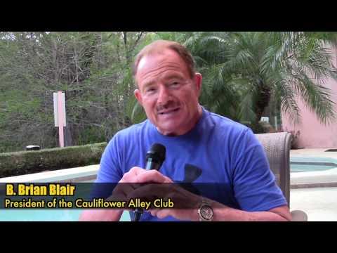 B Brian Blair on the 2018 Cauliflower Alley Reunion!
