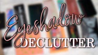 Eyeshadow Palette DECLUTTER 2020