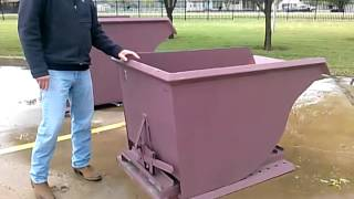 WALK THROUGH:  Self-Dumping Hopper, Self Dumping Equipment, Tilt-Tray, Dumpsters, Container