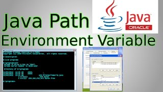 Java Set-up: Add Java to Path Environment Variable & Java Command Line
