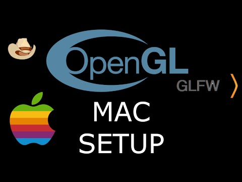 Modern OpenGL 3.0+ [SETUP] GLFW And GLEW On A Mac