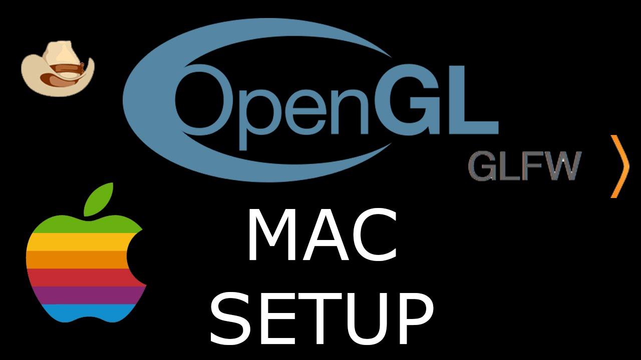 Modern OpenGL 3 0+ [SETUP] GLFW and GLEW on a Mac