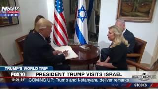 FNN: Trump and Melania Arrive at Prime Minster