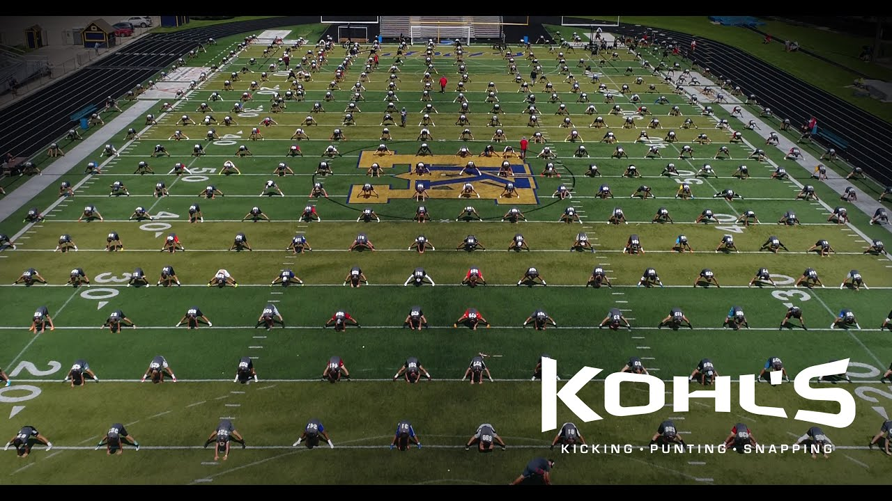 99b3a2cce1 2017 National Scholarship Camp Highlight | Kohl's Kicking Camps ...