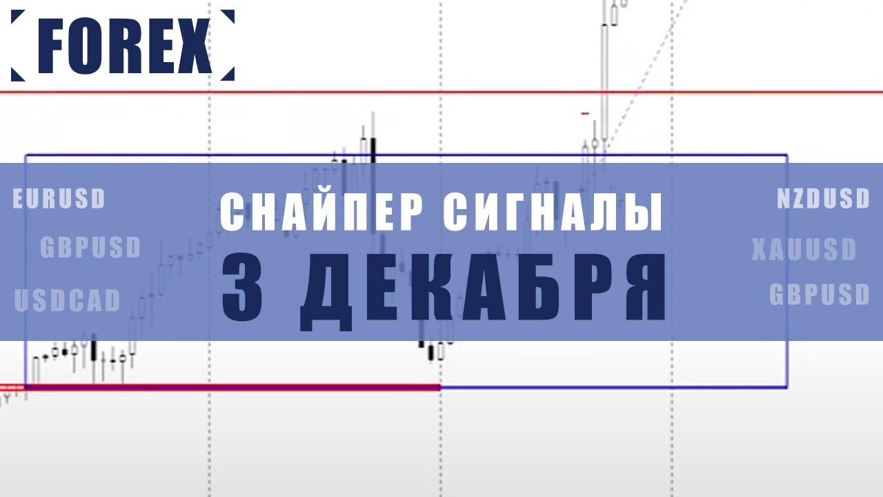 СИГНАЛЫ СНАЙПЕР НА 3 ДЕКАБРЯ  | Трейдер Максим Михайлов