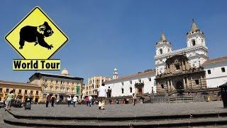 Voyage en Équateur Quito Maryse & Dany © Youtube