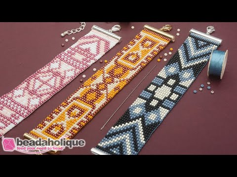 How to Make the Loom Bracelet Kits by Beadaholique