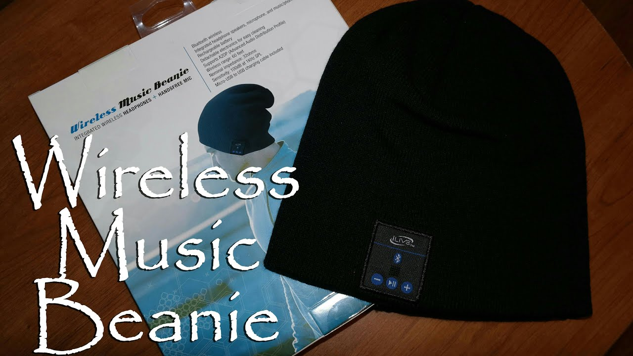 bf654882cd5 iLIVE Wireless Music Beanie (Review) - YouTube