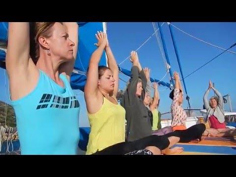 Yoga cruising in Turkey