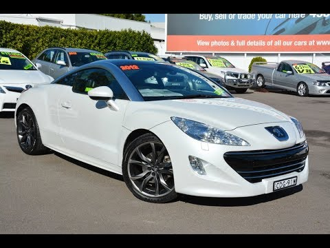 2012 Peugeot RCZ Automatic 1.6L Turbo Coupe For Sale At Newcastle Vehicle Exchange
