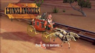 Gunslingers Wii Gameplay