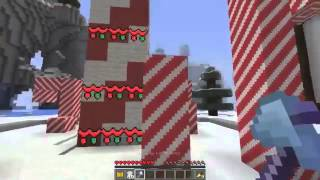Minecraft   SANTAS GOLDEN TICKET!!   Custom Mod Adventure LIVE
