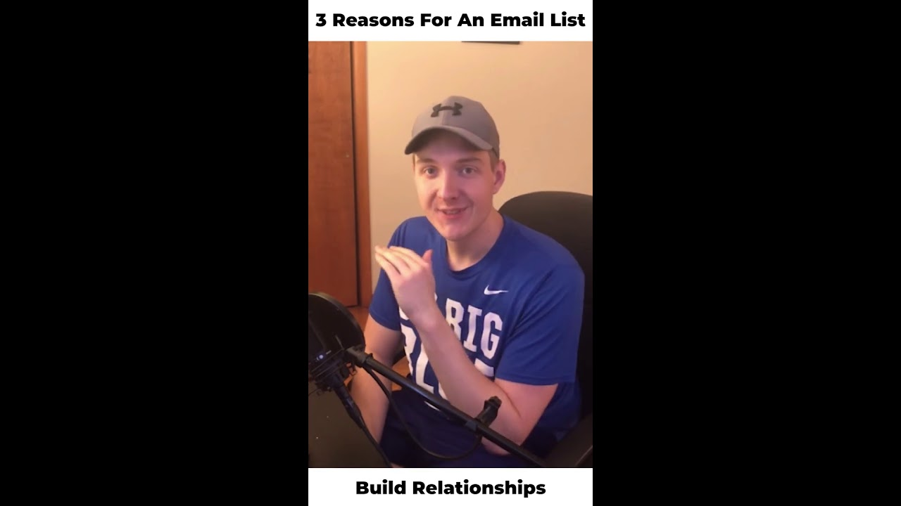 3 Reasons To Build An Email List As A Producer (Selling Beats Online 2020) #shorts