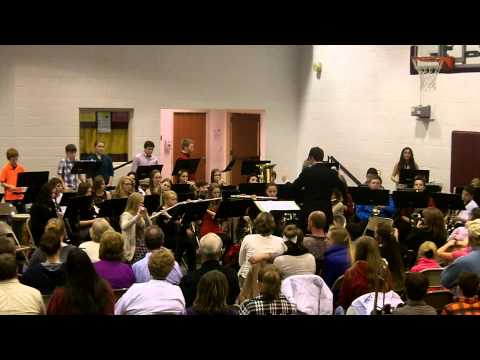 "Davis County Middle School Band performing ""Fantasy on We Three Kings"""