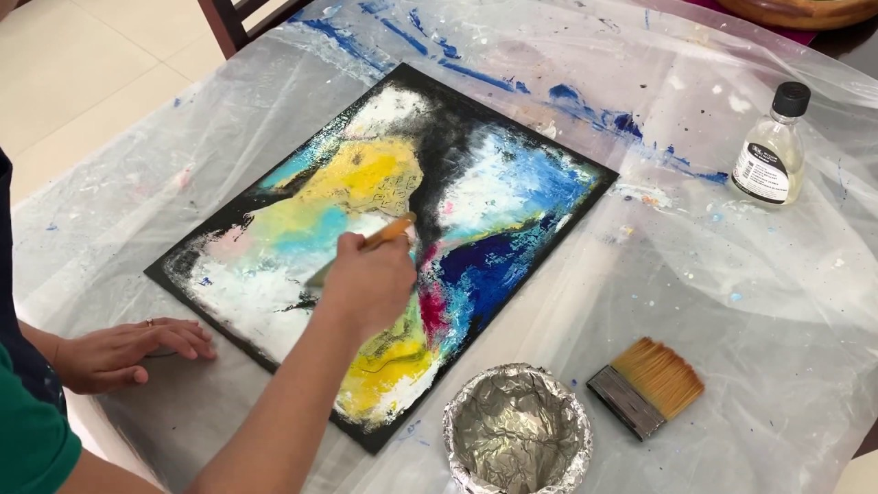 How to varnish your painting