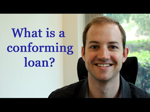 What is a conforming loan?