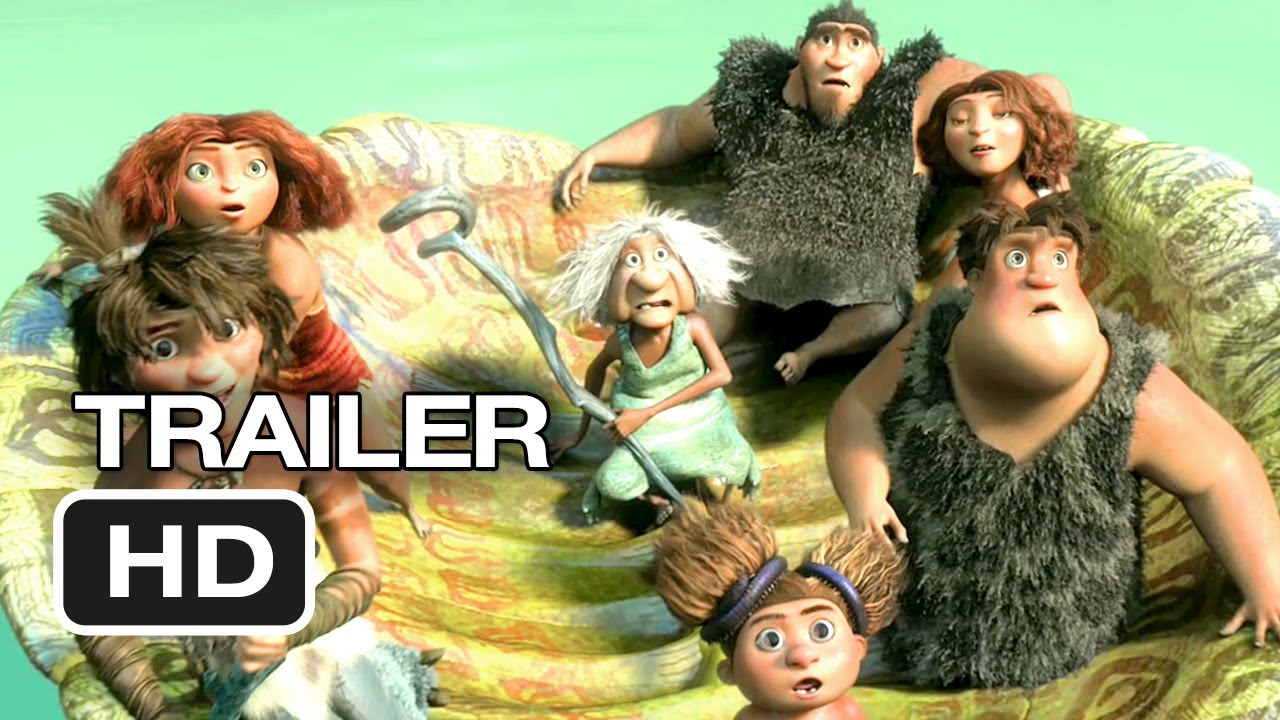 Download The Croods Official Trailer #3 (2013) - Ryan Reynolds, Nicolas Cage Animated Movie HD