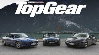 Starcie pokoleń: BMW i8 vs Z8 vs 850 CSi | TEST | TopGear Polska
