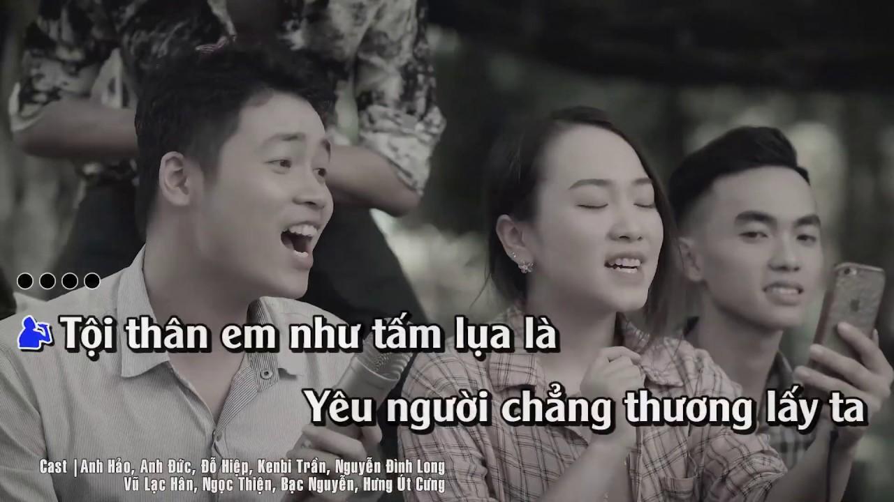 KARAOKE (Không Bè) | Khóc Cho Người Ai Khóc Cho Anh | Gia Huy | Beat có Rap