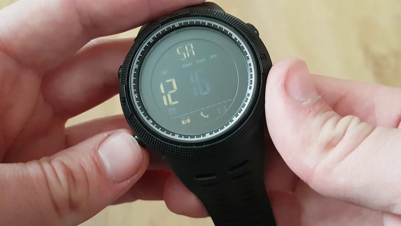 Мужские часы Skmei Clever   1250. Видео обзор! Инструкция! Как настроить! 2c64090f68c41