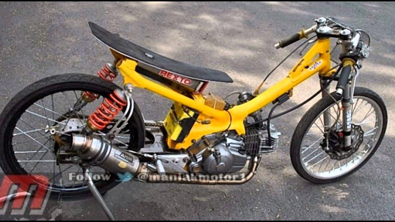76 Modifikasi Motor Drag Racing Terkeren Gudeg Motor