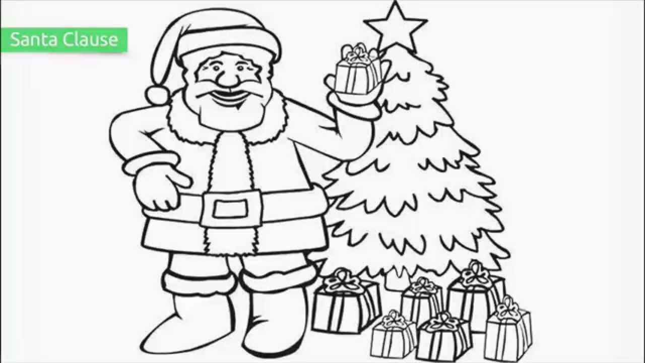 Top 25 Free Printable Christmas Coloring Pages - YouTube