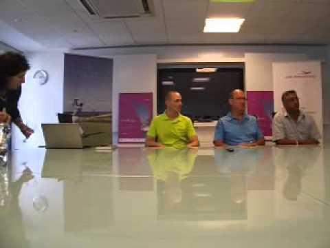 Conférence de presse Heritage Air Mauritius Golf